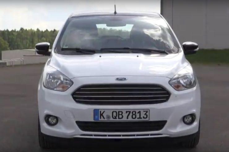 Ford KA+ 1,2 Ti-VCT White