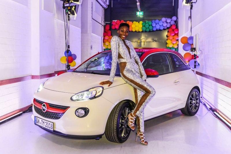 """Germany's next Topmodel"" 2018: Opel ADAM geht an Siegerin Toni"