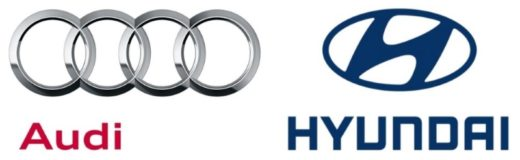 Audi-Logo | Hyundai-Logo