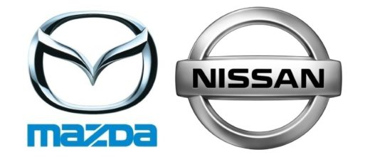 Mazda-Logo | Nissan-Logo