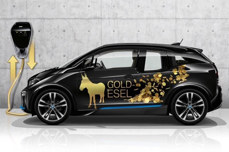 BMW i3 Elektrofahrzeuge helfen bei der Stabilisierung des Stromnetzes