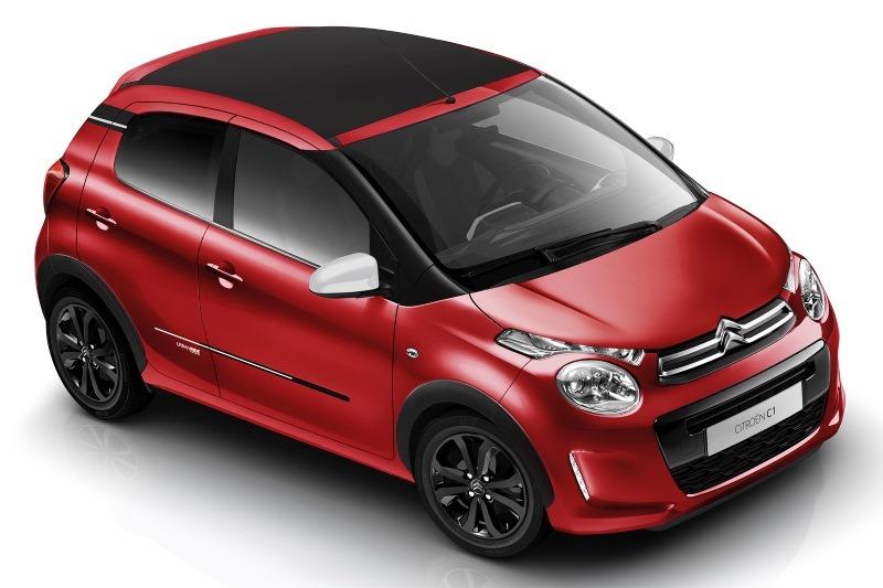"""Sondereditionen Citroën C1: """"Urban Ride"""" und """"Origins"""""""
