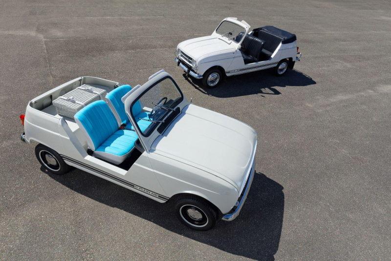 Klassik-Showcar mit E-Antrieb: Renault 4 e-Plein Air
