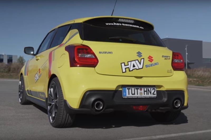 Video: 2019 Suzuki Swift Sport 180 PS Tuning – was ist möglich? | Test | Fahrbericht | BlackForestDrive