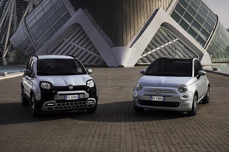 Sonderfinanzierungen für Hybrid-Modelle von Fiat 500 und Fiat Panda Urban