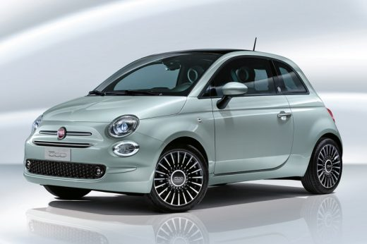 Fiat 500 Coupé Hybrid Launch Edition