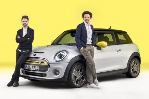 Interview mit Oliver Heilmer und Renzo Vitale über den MINI Cooper SE