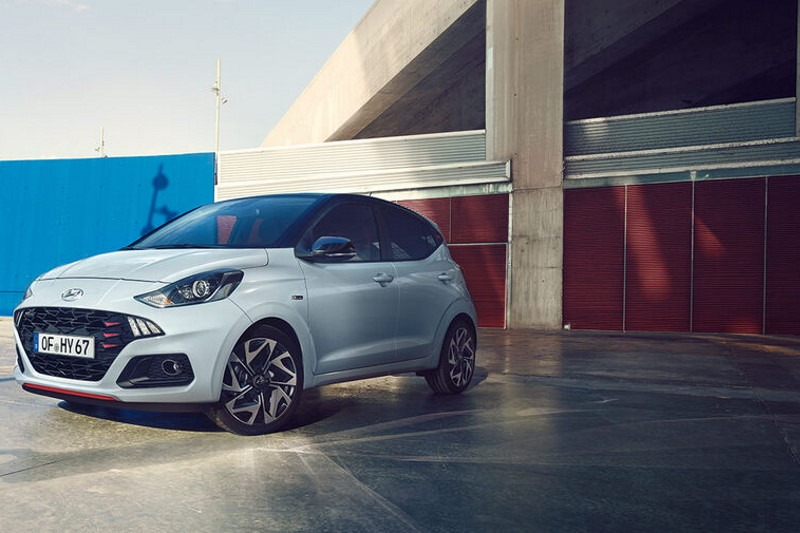 Neuer Hyundai i10 als sportliche N Line