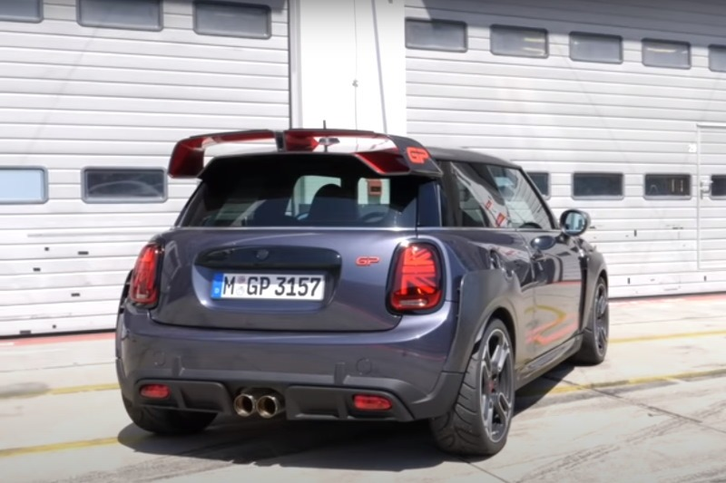 Video: MINI John Cooper Works GP auf dem Nürburgring – Autophorie