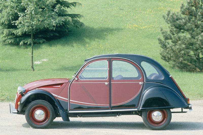 Citroën 2CV Charleston feiert 40. Geburtstag
