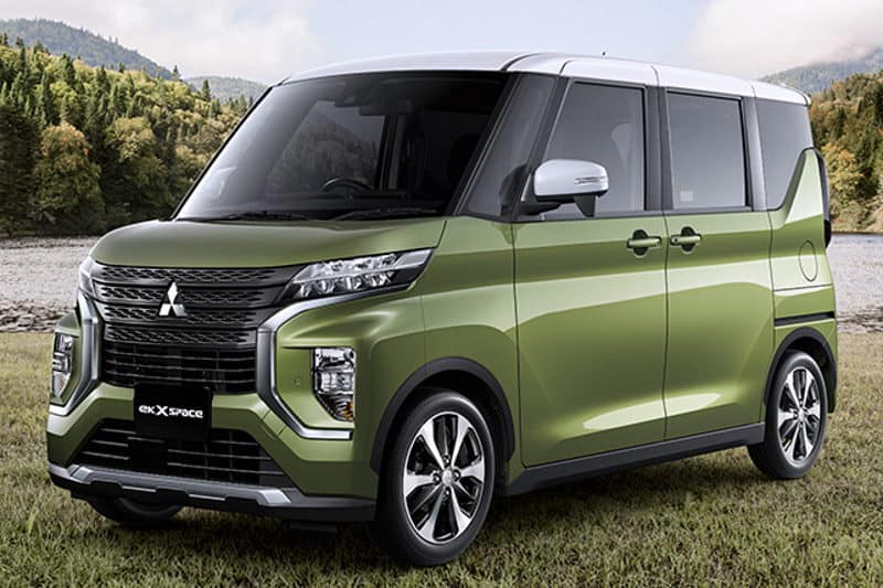 "Mitsubishi eK X space und Mitsubishi eK space sind ""Kei Car of the Year"""