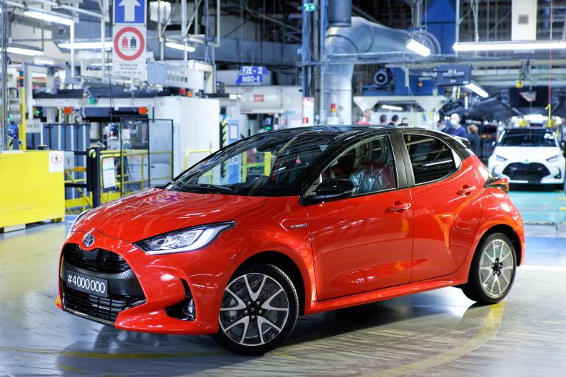 Viermillionster Toyota Yaris in Frankreich vom Band gelaufen
