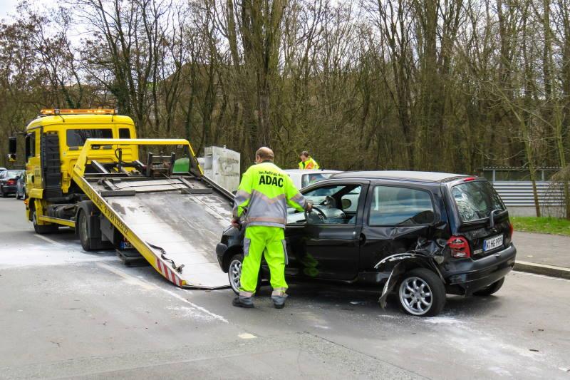 Unfall Renault Twingo