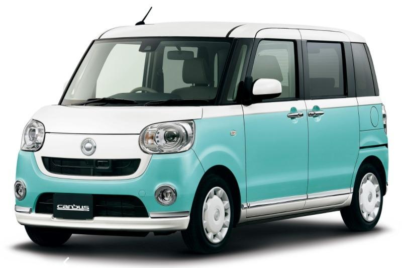 Daihatsu erweitert Sonderserie VS um den Move Canbus in Japan