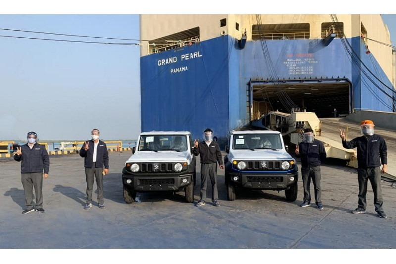Maruti Suzuki startet die Produktion und den Export des Jimny aus Indien