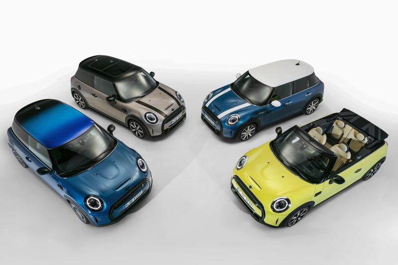 Überarbeitung des Mini 3-Türers, Mini 5-Türers und des Mini Cabriolets