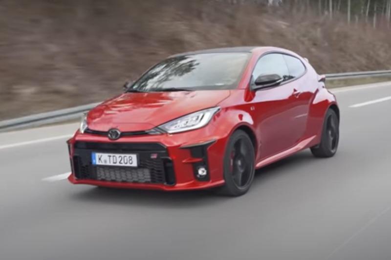 Video: Toyota GR Yaris | Test | BlackForestDrive