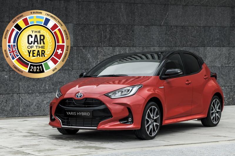 """Toyota Yaris ist Europas """"Auto des Jahres 2021"""""""