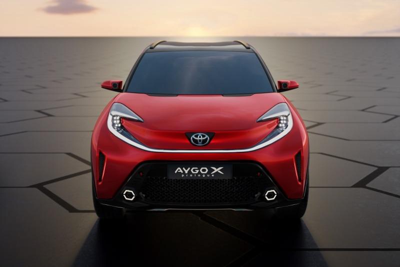 Weltpremiere für Toyota Aygo X Prologue