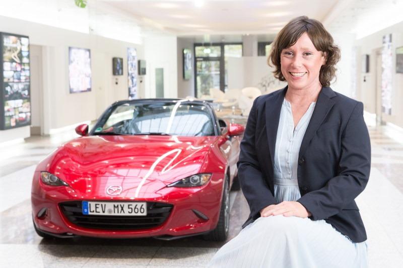 Carolin Busch ist zurück im Mazda Deutschland Presseteam