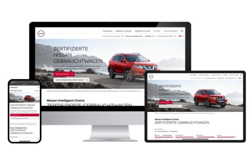 """Neue Gebrauchtwagenplattform """"Nissan Intelligent Choice"""""""