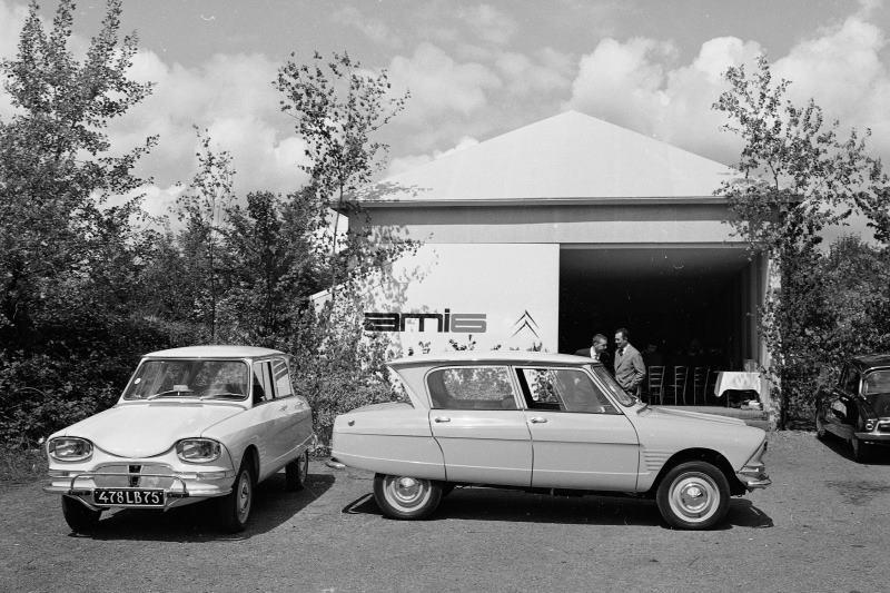 60 Jahre Citroën Ami 6: Originelles Modell feiert runden Geburtstag