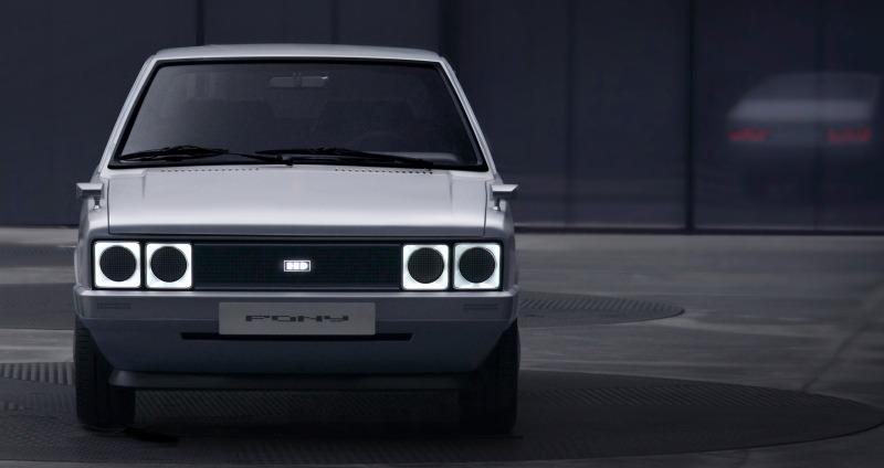 Hyundai Motor Company präsentiert Heritage Series PONY