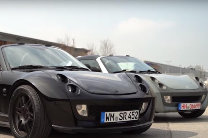 Video: smart Roadster Coupé & smart Roadster Brabus Xclusive | CarRanger