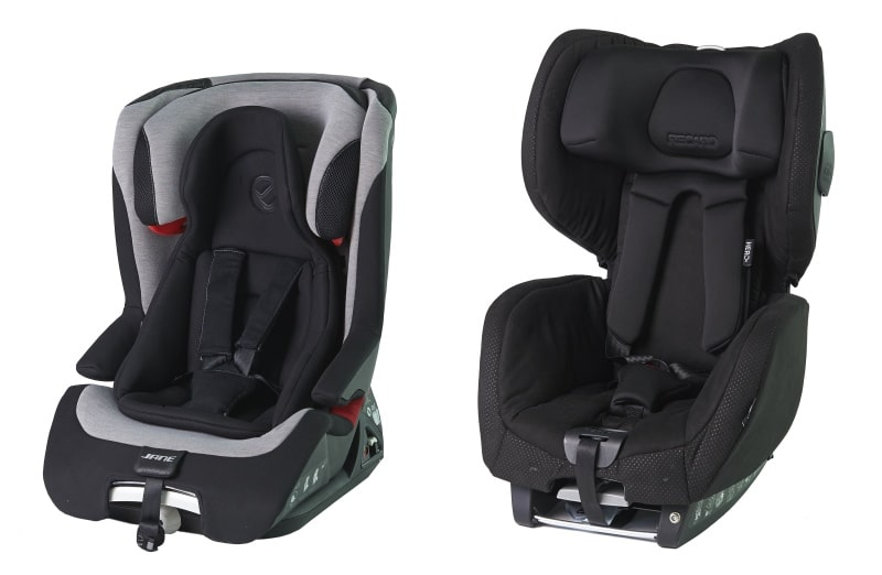 Stiftung Warentest und ADAC warnen: Zwei Kindersitze sind ein Sicherheitsrisiko
