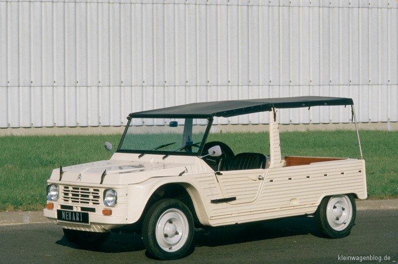 Citroën Méhari feiert 50-jähriges Jubiläum