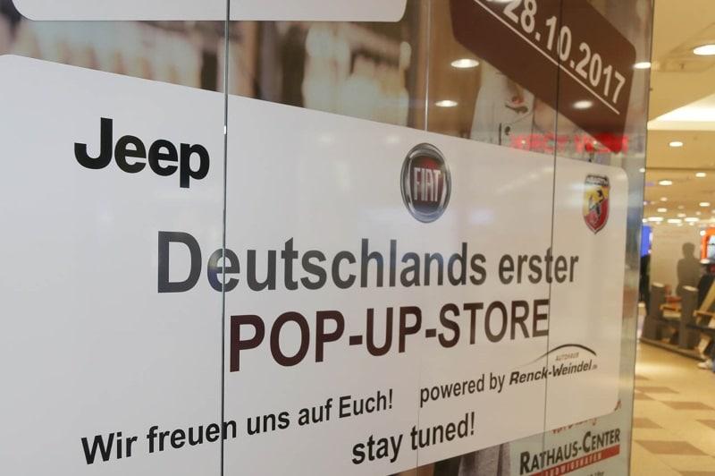 Autohaus Renck-Weindel und FCA eröffnen Pop Up Store
