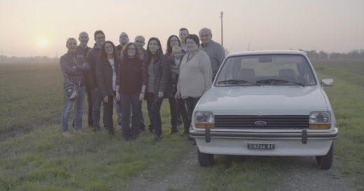 38-Jahre alter Foto Fiesta restauriert