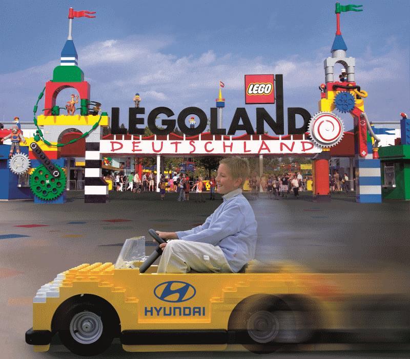 10-jähriges Jubiläum von Hyundai und LEGOLAND Deutschland