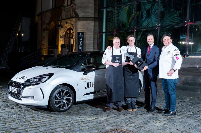 Patisserie-Wettbewerb der Jeunes Restaurateurs: DS Automobiles unterstützt erneut kulinarischen Contest