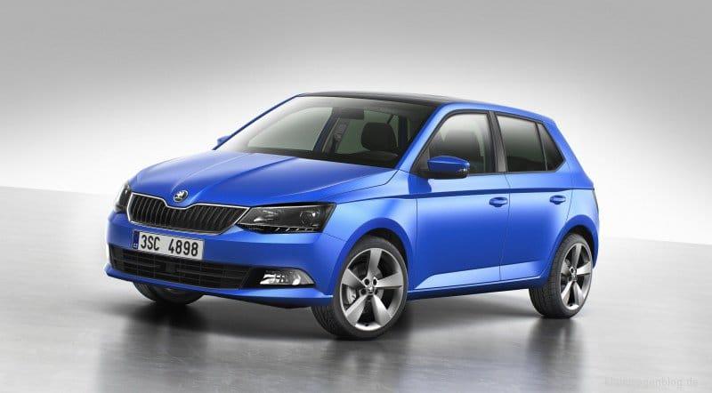 Škoda Fabia beliebtestes Auto bis 4 Meter