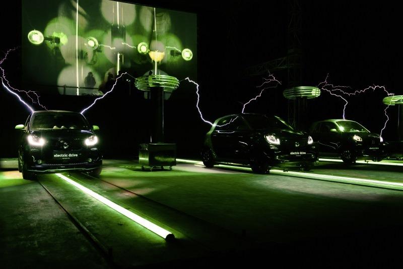 """smart electric symphony"" beim Festival of Lights"